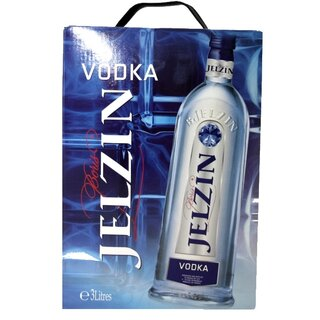 Boris Jelzin Vodka, 37,5% alk.,  3 l