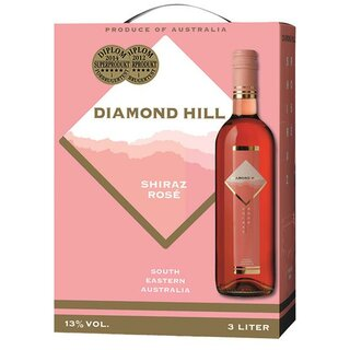 Diamond Hill rosevin 13% Vol. 3l BIB (AU)