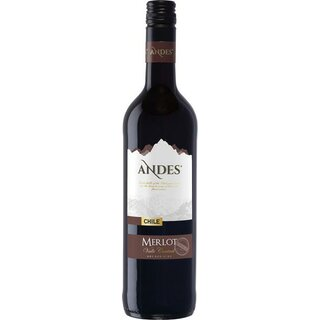 Andes Merlot, Chile, 0,75l