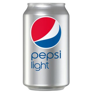 Pepsi Cola light 24 x 0,33l Ds. Export