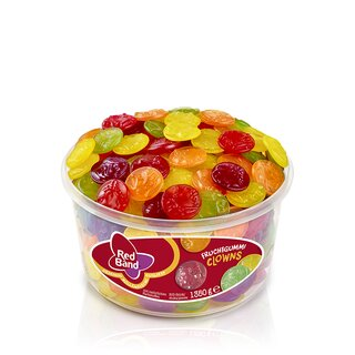 Red Band Fruchtgummi Clowns 1300g