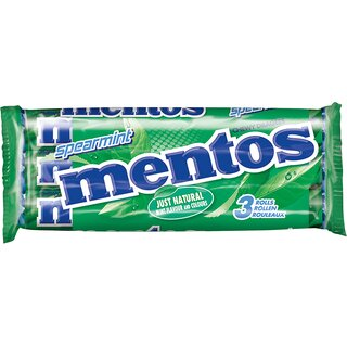 Mentos Spearmint 3er Pack