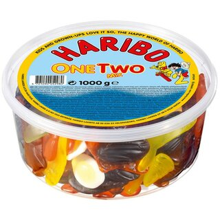 Haribo One/Two Mix 1kg