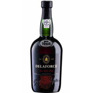Delaforce Port Ruby 20% alc. 0,75 ltr.