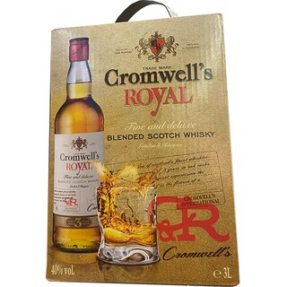 Cromwell´s Scotch Whisky BiB 40 % 3 l