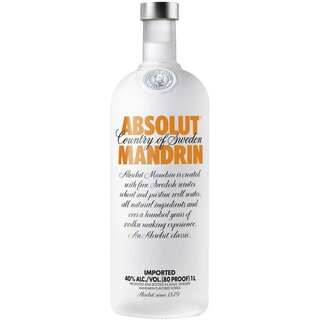 Absolut Vodka Mandarin, 40% alk., 1l