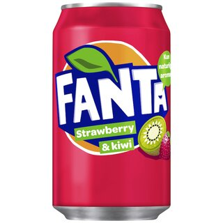 Fanta Strawberry Kiwi  24x0,33l Export