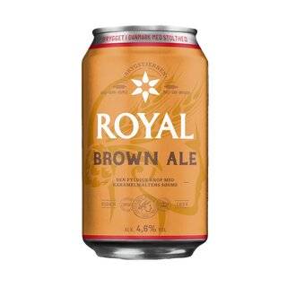 Royal øl Brown Ale 24x0,33 l