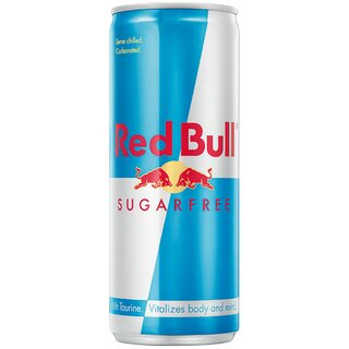 Red Bull Sugarfree Energy Drink, 24 x 0,25 l Export