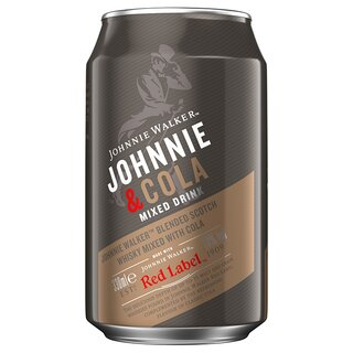 Johnnie Walker & Cola 0,33 l